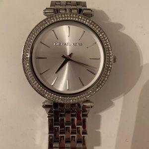 Michael Kors Darci Silver Watch